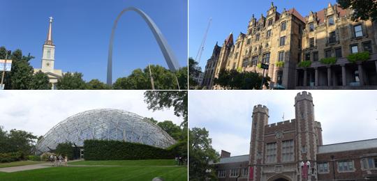 圣路易斯——位于美国本土中央的城市