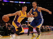 Jeremy Lin to join Bryant in Lakers starting lineup