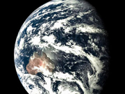 China's spacecraft captures images of moon, earth