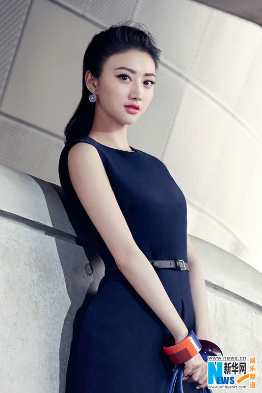 Sweet actress Jing Tian poses for COSMOPOLITAN magazine. [Xinhua]: www.china.org.cn/arts/2014-10/29/content_33903964_4.htm