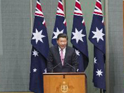 Full video: Xi delivers speech at Federal Parliament of Australia