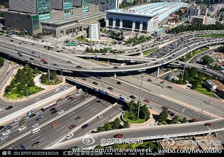 北京西直门桥_央视吐槽北京西直门立交桥:司机的迷魂阵 - China.org.cn