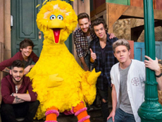 One Direction sings on Sesame Street