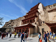 Mogao Grottoes struggling with increasing tourists