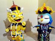 Dragon, phoenix ambassadors make debut