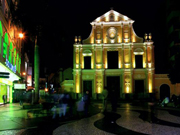 Night tour program of a world heritage site in Macao