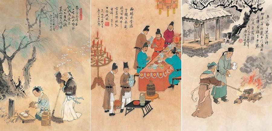 new year vacation in ancient china china org cn