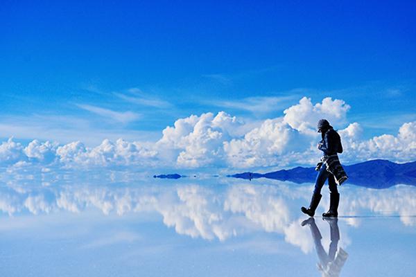 Salar De Uyuni The World S Largest Mirror China Org Cn