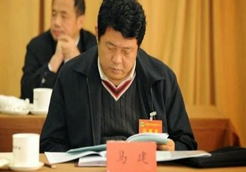 Ma Jian, Vice Minister of State Security, is under investigation for suspected serious violation of disciplines and laws.[File photo]