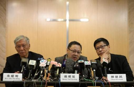 Founders of Occupy Central released Saturday