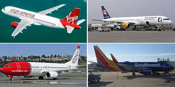 Top 10 airlines with best in-flight Wi-Fi services