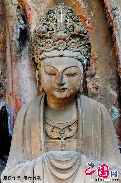 Chongqing dazu rock carvings china
