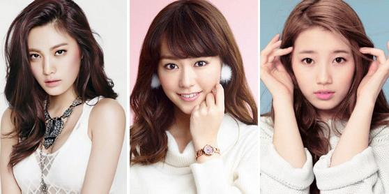 Top 10 most beautiful faces in Asia 2014