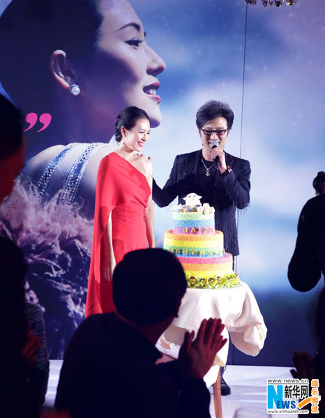 Wang speaks after his proposal is accepted by Zhang. [Photo/Xinhuanet.com]