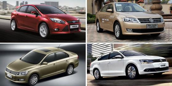 Top 10 best-selling cars in China 2014