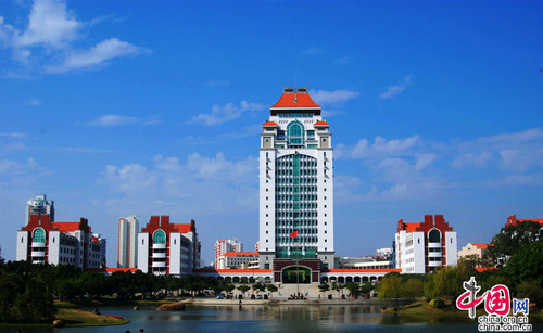 Xiamen, Fujian Province, one of the 'top 10 China's satisfying tourist cities of 2012' by China.org.cn.