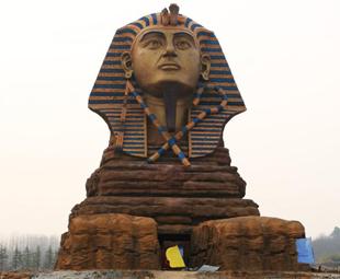 'Great Sphinx' pops up in Anhui