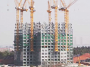 57-floor building erected in 19 days