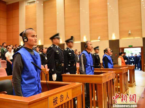 Three executed over Kunming terrorist attack - China org cn