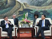 Premier Li meets with US Treasury Secretary