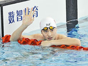 Asian Games gold medalist triumphs in 22.17 seconds
