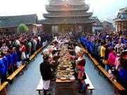 Dining tradition unites Yao, Zhuang minorities