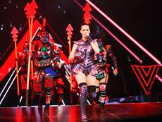 Katy Perry makes Shanghai debut