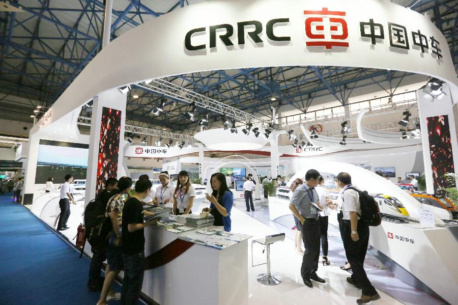 D Exhibition China : Urtran int l urban rail exhibition china