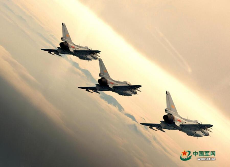 Stunning photos of China's fighter planes - China org cn