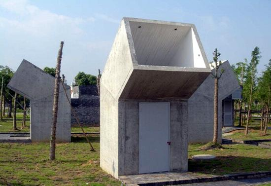 Public Toilets, Jinhua Architecture Park, one of the 'top 10 best-designed public toilets in the world' by China.org.cn.