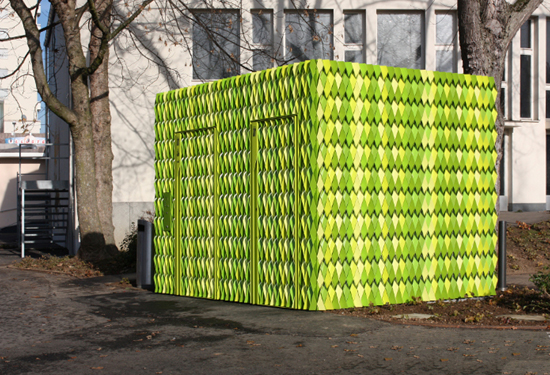 Public Toilets, Uster, one of the 'top 10 best-designed public toilets in the world' by China.org.cn.