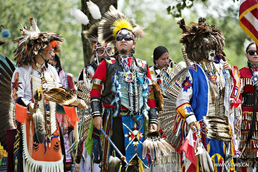 Local Mohawk tribe holds powwow in Canada - China.org.cn