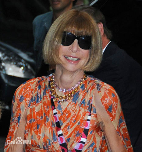 Anna Wintour, one of the 'top 10 super models over 60 years old' by China.org.cn.