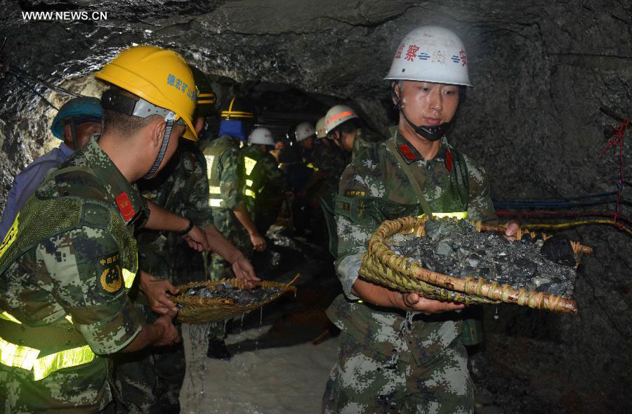 Dehong China  city photos : stannum mine in Lianghe County of Dehong Prefecture, southwest China ...