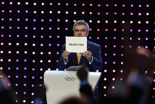 Beijing wins 2022 Winter Olympics bid