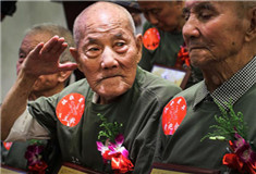 Chinese veterans recall fierce fighting in WWII
