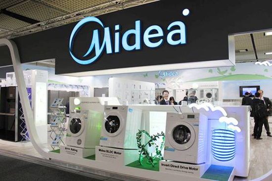 Midea, one of the 'top 10 most valuable privately held Chinese brands' by China.org.cn.