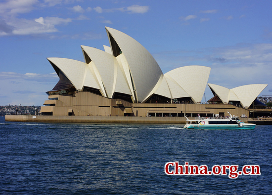Sydney, Australia, one of the 'top 10 costliest cities in the world' by China.org.cn.