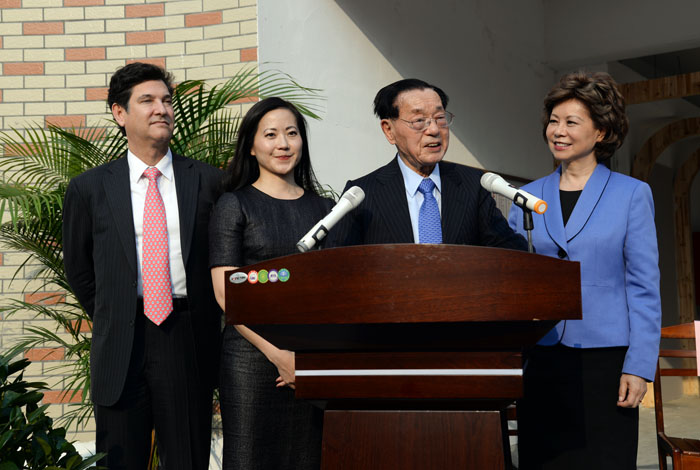 Ex-US labor secretary donates to Chinese kindergartensGo to Forum >>0 Comment(s)