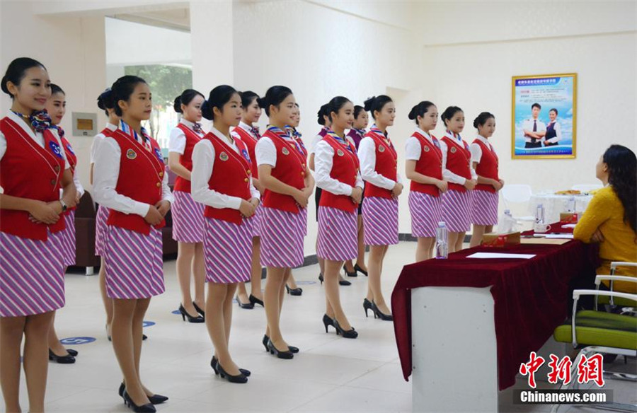 how to get a job as an airline stewardess