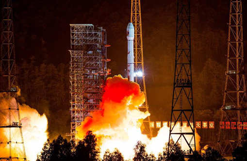 China launches first communication satellite for Laos