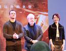 《火星救援》剧组与中国科学家对谈 八大高校学生热情爆棚