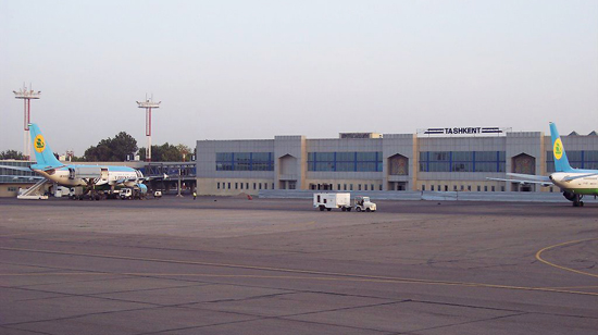 Tashkent International Airport, one of the 'top 10 worst airports for sleeping' by China.org.cn.