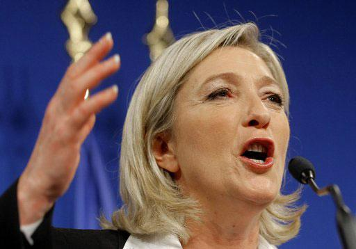 French National Front leader Marine Le Pen.[CNTV]