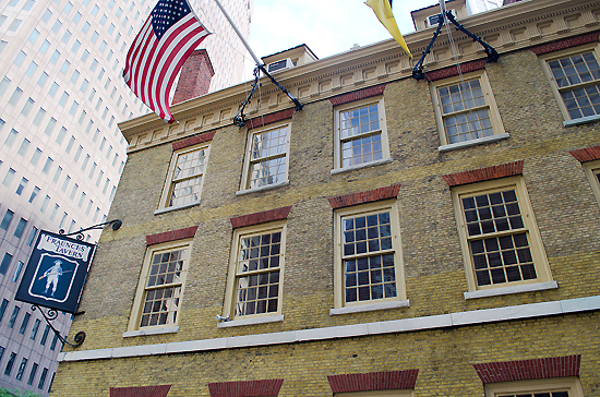 Fraunces Tavern, one of the 'top 10 oldest restaurants in the world' by China.org.cn.