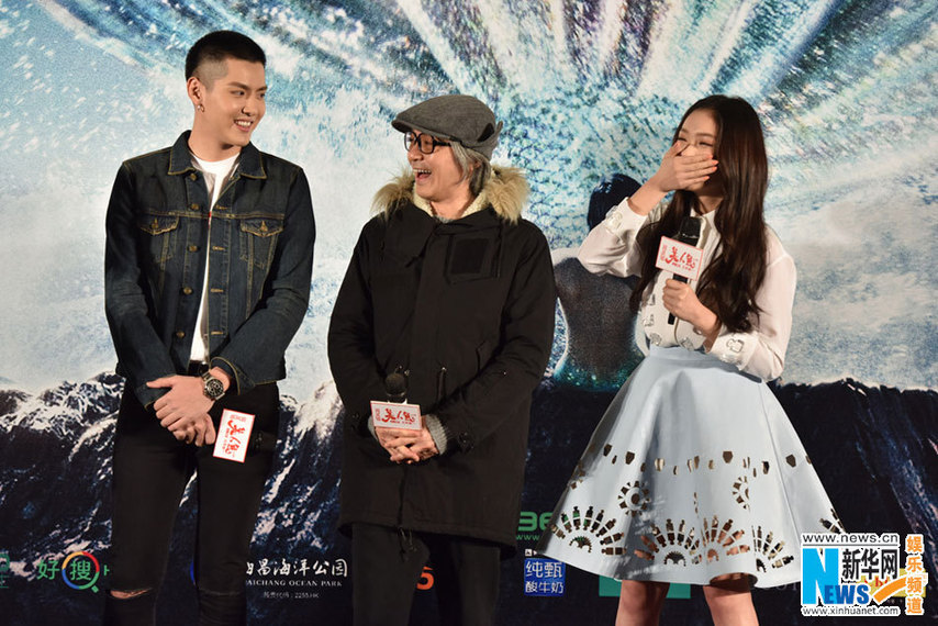Stephen Chow Promotes Mermaid In Guangzhou China Org Cn