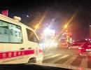 宁波3辆私家车为给救护车让道集体闯红灯