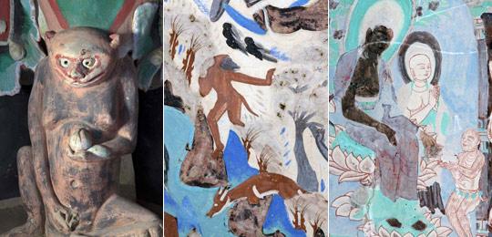 敦煌石窟一批猴形象文物面世 最古老距今1400年