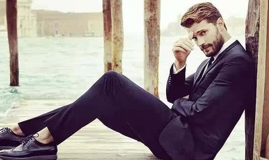 Jamie Dornan, one of the 'Top 10 most handsome faces in the world in 2015' by China.org.cn