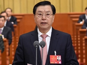 12th NPC holds closing meeting of 4th session
